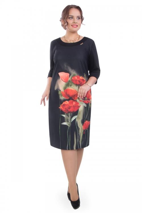 Платье ВА-П4-3527/4-7 от DressyShop