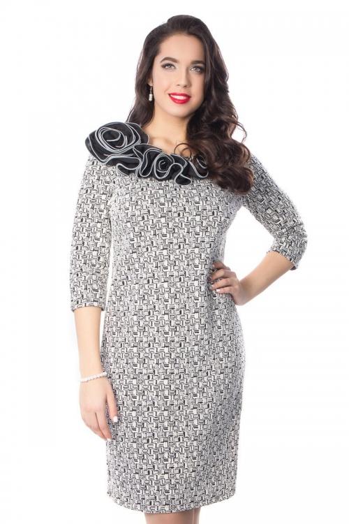 Платье ВА-П4-2815-Р от DressyShop