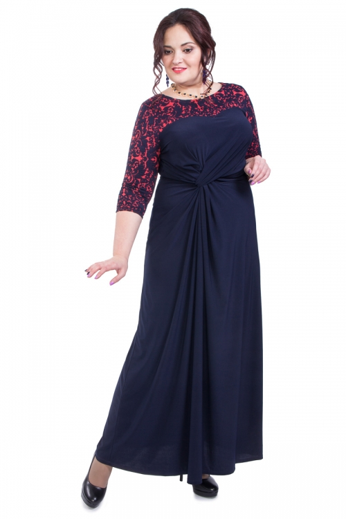 Платье ВА-П4-2956/2-3-Р от DressyShop