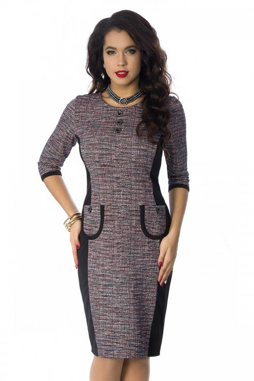 Платье ВА-П4-3433-Р от DressyShop