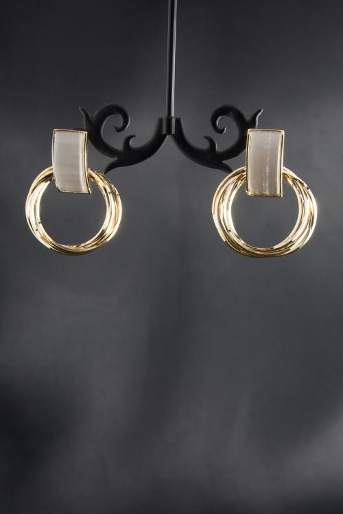 Серьги-кольца ВА-С-334/47 от DressyShop