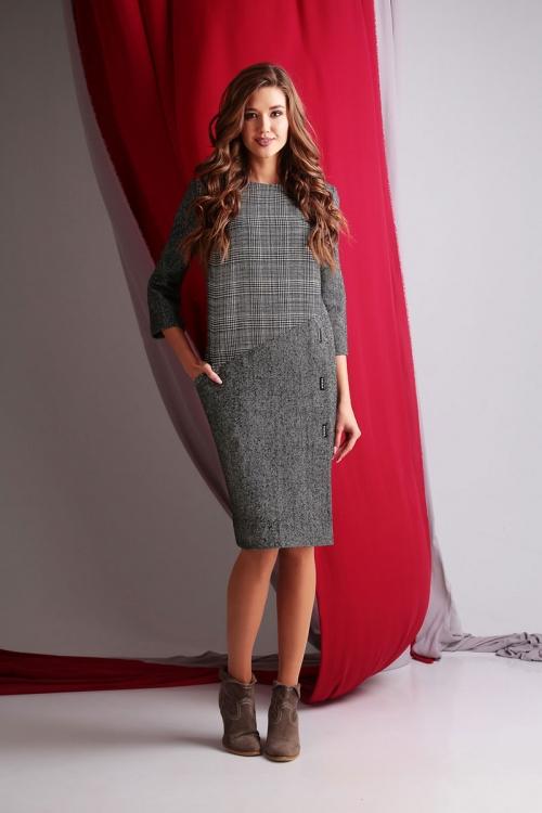 Платье АК-55013-Р от DressyShop