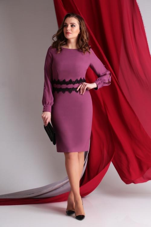 Платье АК-55033-Р от DressyShop