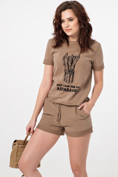 Костюм с шортами ФЛА-478.1 от DressyShop