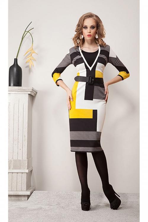 Платье ДИВА-1072/1 от DressyShop
