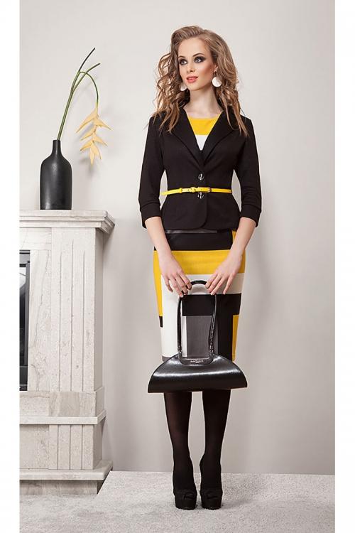 Платье с жакетом ДИВА-1076 от DressyShop