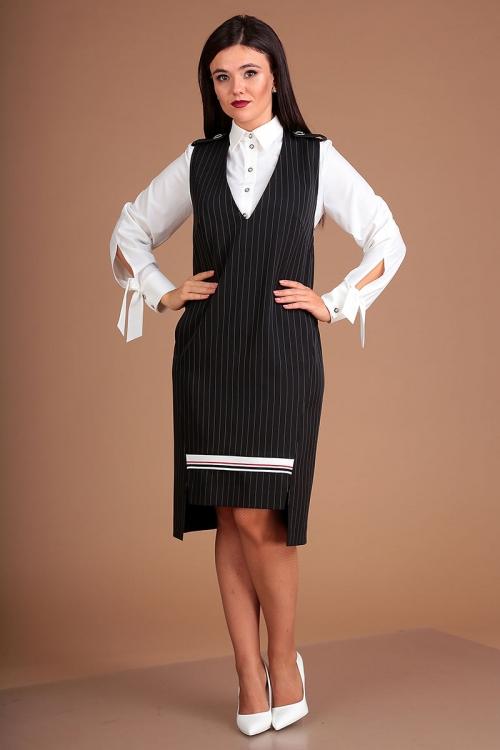 Сарафан с блузой МЮ-2503 от DressyShop