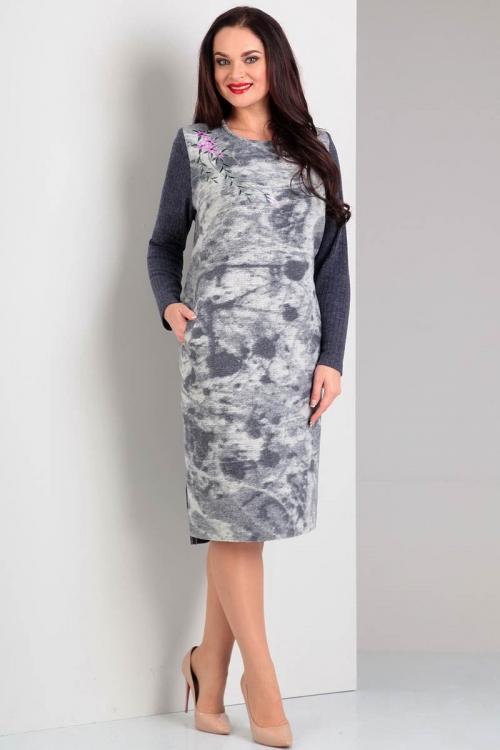 Платье ЖУР-1663-Р от DressyShop