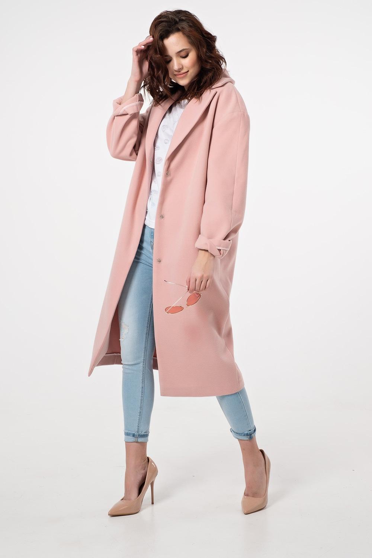 Свободное пальто без подкладки