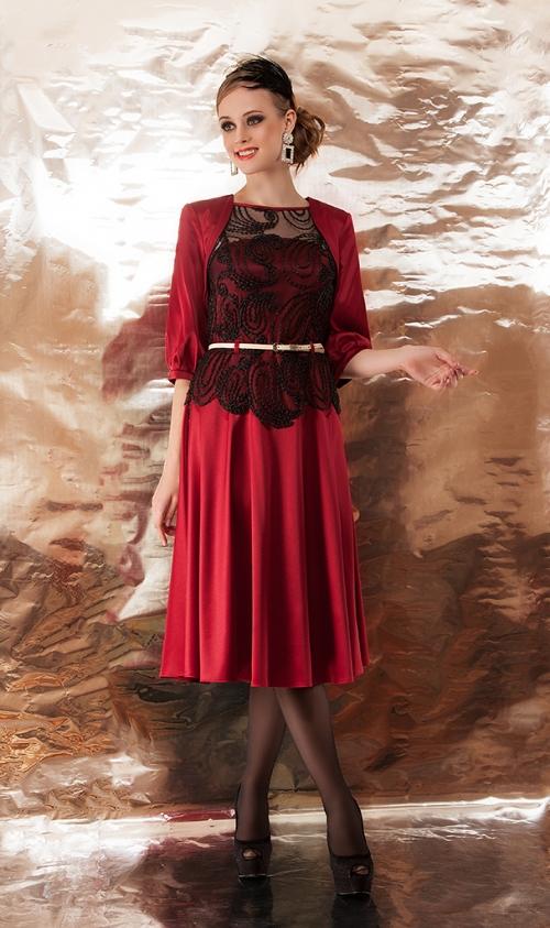 Платье с болеро ДИВА-947 от DressyShop