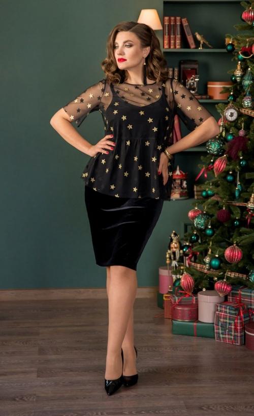 Платье с блузой ГА-730 от DressyShop