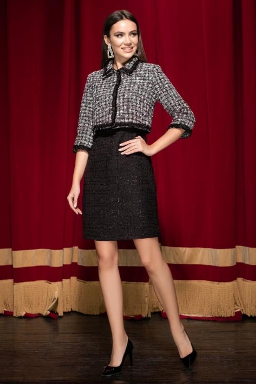 Платье с жакетом Ю-19-289 от DressyShop