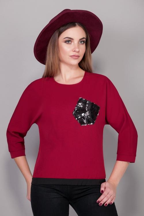 Блузка ЭМ-370 от DressyShop