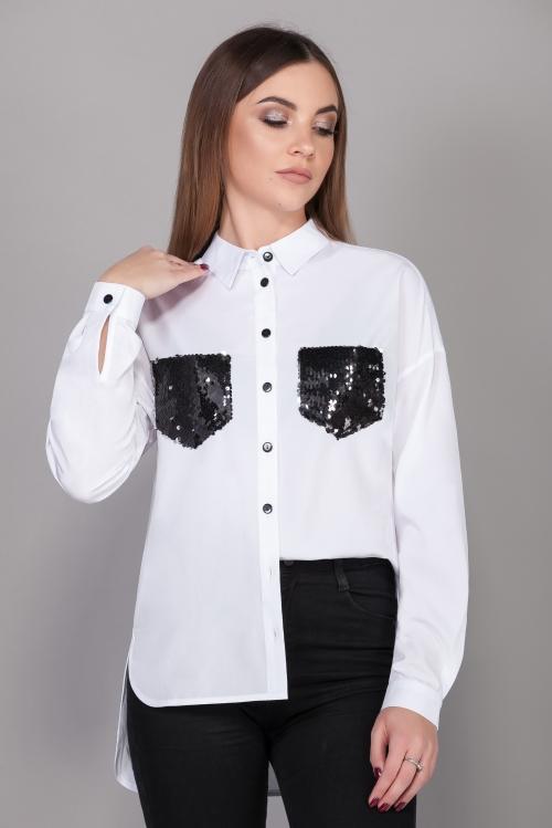 Блузка ЭМ-448/3-4 от DressyShop