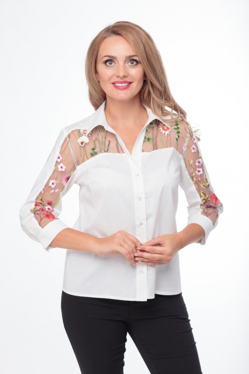Блузка АНЛ-645 от DressyShop