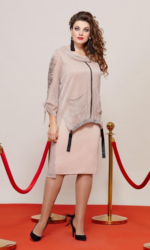 Платье с туникой ВК-10363 от DressyShop