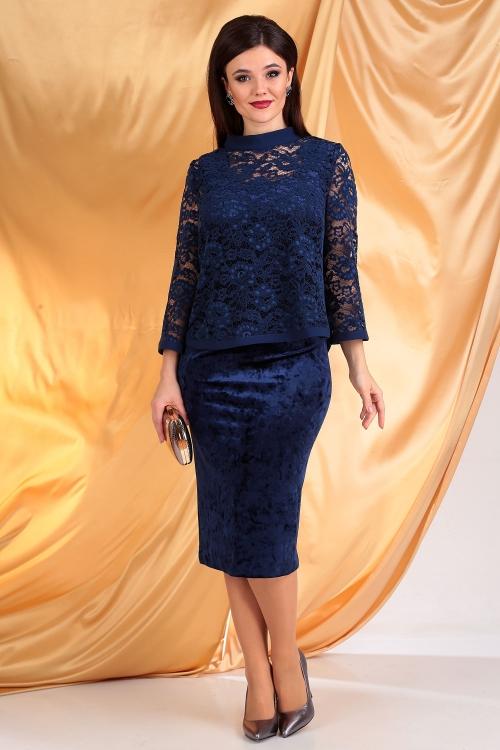 Платье с блузой МЮ-2536 от DressyShop
