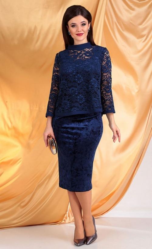 Платье с блузой МЮ-2536-Р от DressyShop