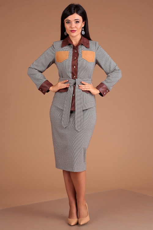 Юбочный костюм МЮ-2505 от DressyShop