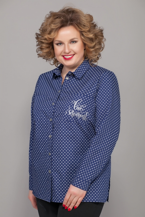 Блузка ЭМ-442/2 от DressyShop