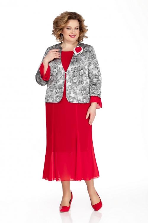 Платье с жакетом ПРИ-1050 от DressyShop