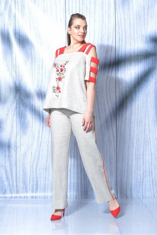 Брючный костюм МАЛ-719-021 от DressyShop