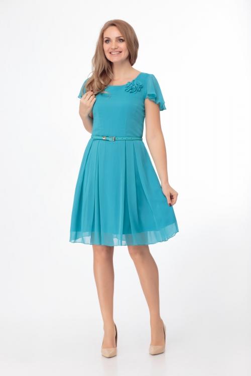 Платье АНЛ-145однотон от DressyShop