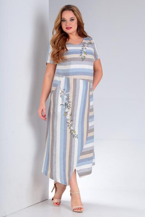 Платье ЖУР-2227 от DressyShop