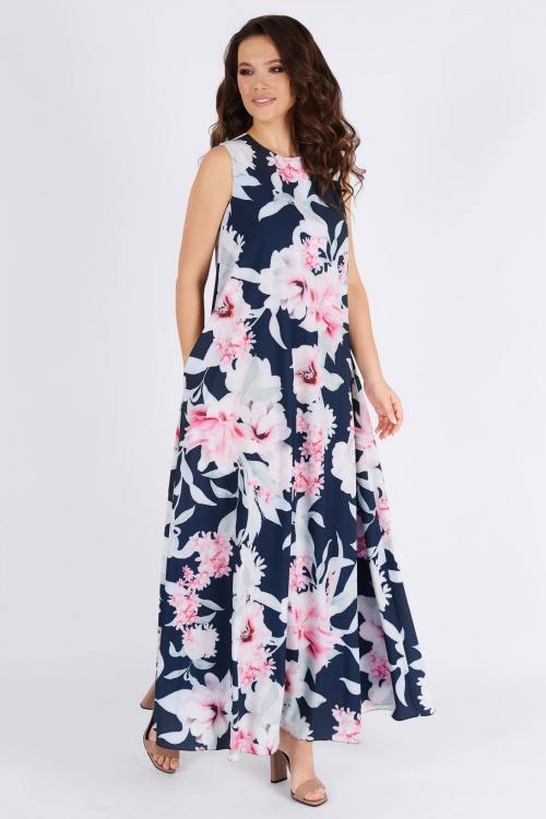 Платье ТФ-1390лилии от DressyShop
