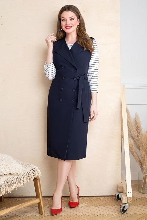 Платье с блузой Ю-20-366 от DressyShop