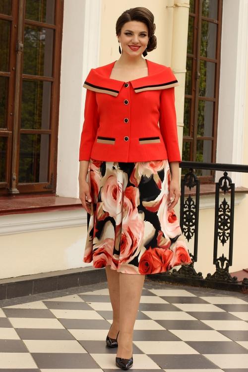 Юбочный костюм МЮ-2571 от DressyShop