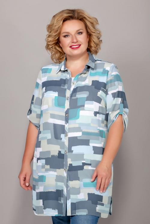 Блузка ЭМ-490/4-6 от DressyShop
