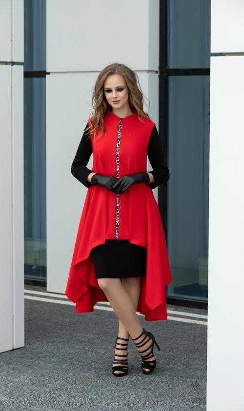 Платье с кардиганом ДИВА-1137 от DressyShop
