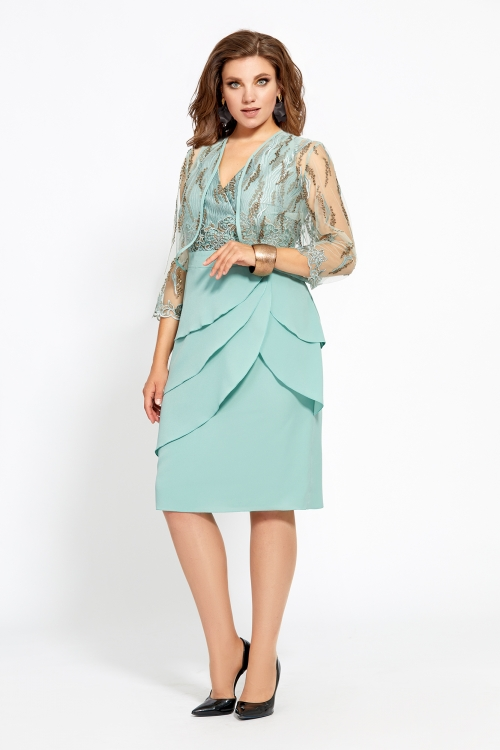 Платье с болеро МУ-467 от DressyShop
