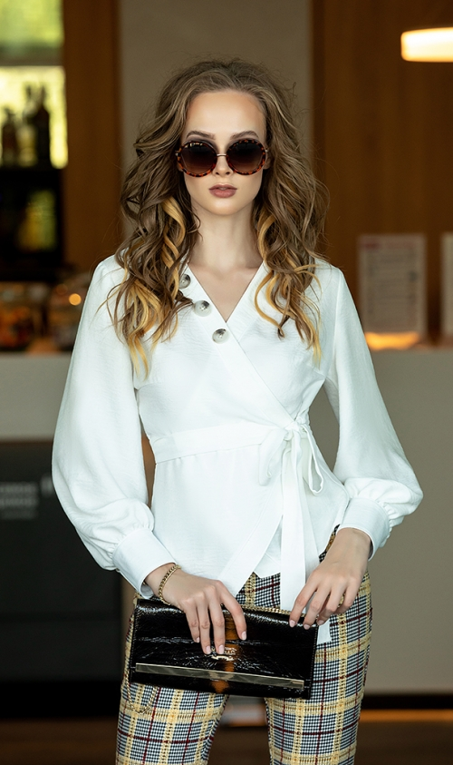 Блузка ДИВА-1150 от DressyShop