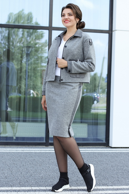 Юбочный костюм МЮ-2592 от DressyShop