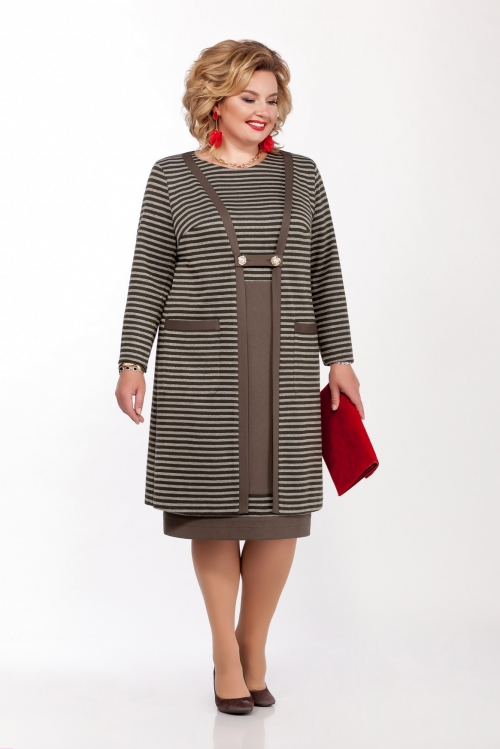 Платье с кардиганом ПРИ-1143 от DressyShop