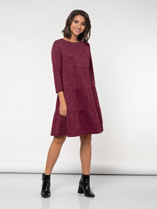 Платье ДЖ-493однотон от DressyShop