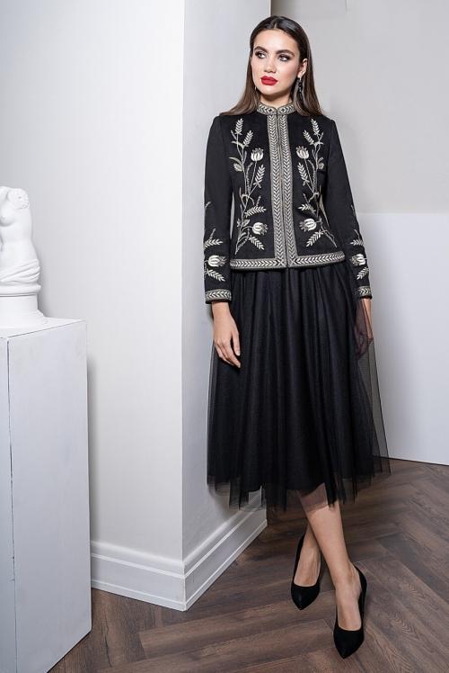 Платье с жакетом Ю-21-453 от DressyShop