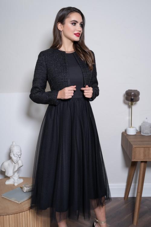 Платье с жакетом Ю-21-468 от DressyShop