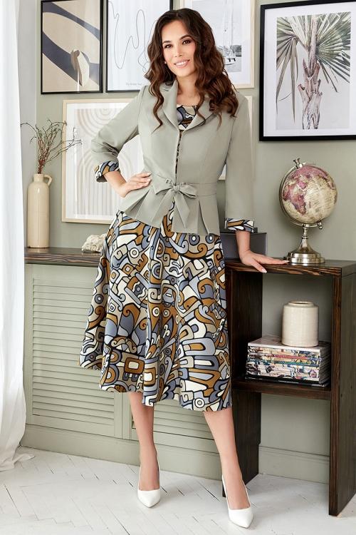 Платье с жакетом МЮ-2513 от DressyShop