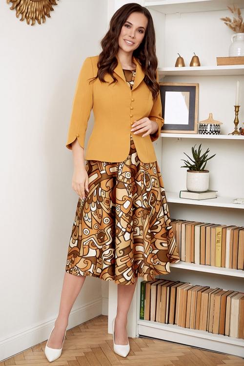 Платье с жакетом МЮ-2527-1 от DressyShop