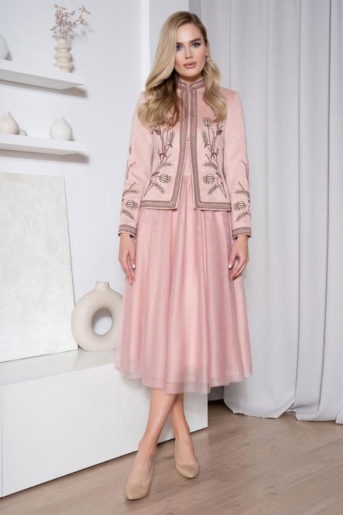Платье с жакетом Ю-21-571 от DressyShop