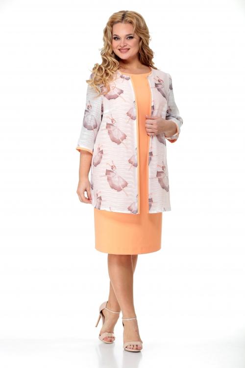 Платье с накидкой МСТ-946 от DressyShop
