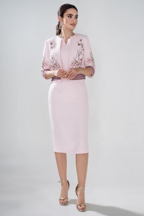 Платье с жакетом Ю-21-465 от DressyShop