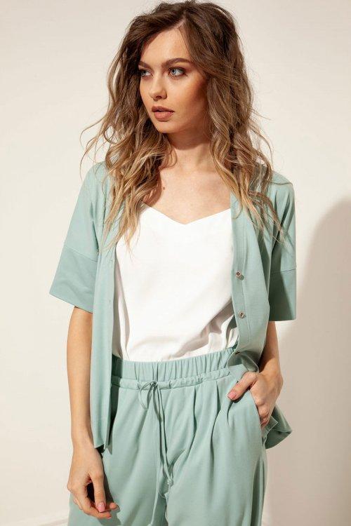 Блузка с топом НЛ-20422 от DressyShop