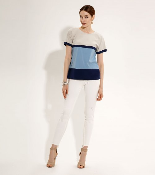 Блузка ПРИО-722140P от DressyShop