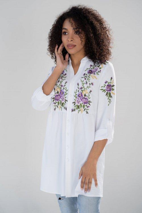 Рубашка Ю-21-632 от DressyShop