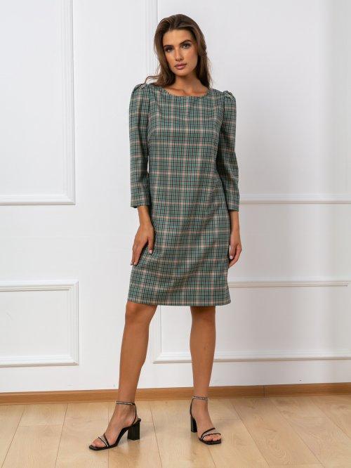 Платье ДЖ-275клетка от DressyShop