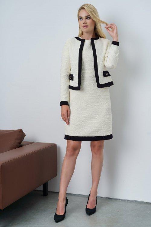 Платье с жакетом Ю-21-659 от DressyShop